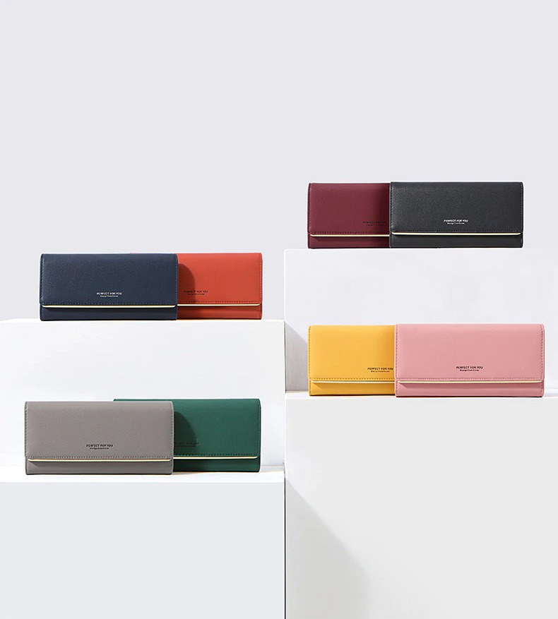 Lola Long Trifold Wallet (7)